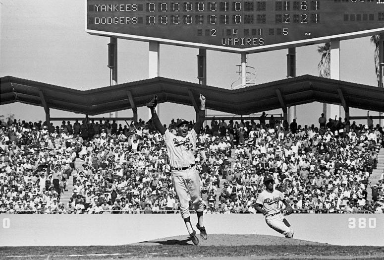 080 Sandy Koufax, 1963 World Series, Game 4